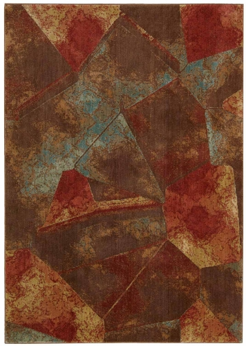 Nourison Somerset ST77 Multi Color Area Rug