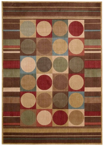 Nourison Somerset ST80 Multi Color Area Rug