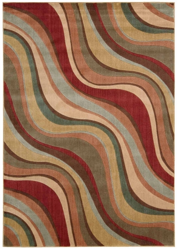 Nourison Somerset ST81 Multi Color Area Rug