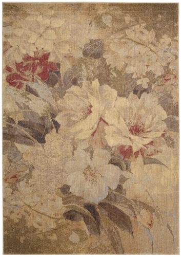 Nourison Somerset ST83 Multi Color Area Rug