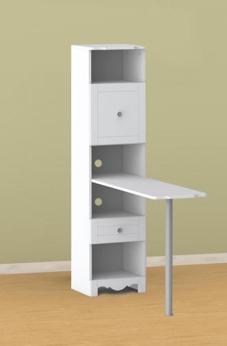 Pixel Bookcase Desk