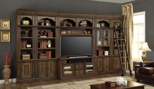 Aria Entertainment Wall Unit Set C