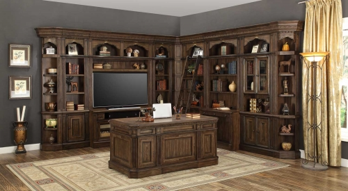 Aria Library Wall Unit B