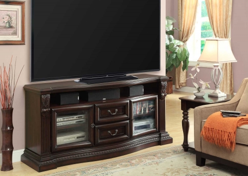 Bella 67in TV Console with Power Center