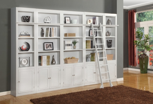 Boca Library Bookcase Set - B
