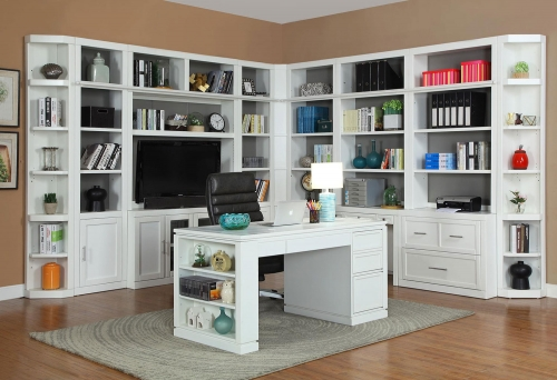 Parker House Catalina Collection Features A Clean Design In Cottage White  Finish. The Catalina Collection From Parker House Furniture Consists Of  Library ...