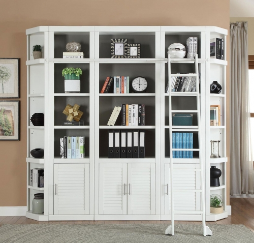 Catalina Library Bookcase Set 2