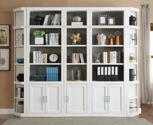 Catalina Library Bookcase Set 3