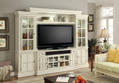 Parker House Charlotte 4pc 62-inch Entertainment Wall