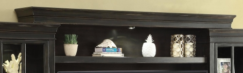 Parker House Concord Expandable Bridge, Shelf and Backpanel with wings