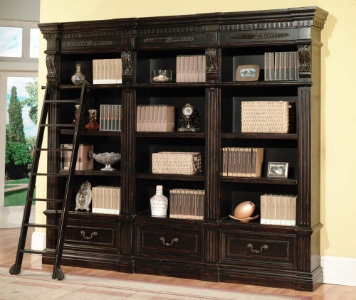 Grand Manor Palazzo 3 Piece Bookcase