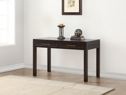 Greenwich 48-inch Writing Desk - Dark Walnut