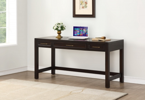 Greenwich 60-inch Computer Desk - Dark Walnut