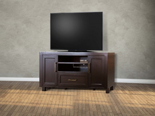 Greenwich 63-inch TV Console - Dark Walnut