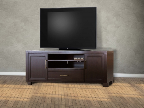 Greenwich 76-inch TV Console - Dark Walnut