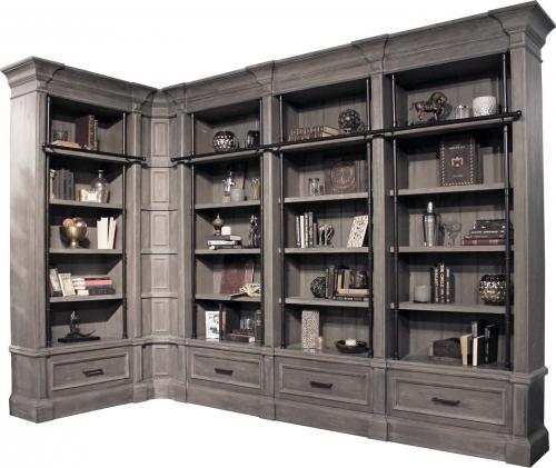 Gramercy Park Museum Bookcase Set