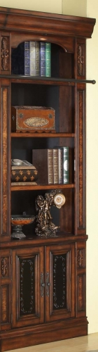 Parker House Leonardo 32in Open Top Bookcase