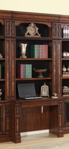 Parker House Leonardo Library Desk 2Pc