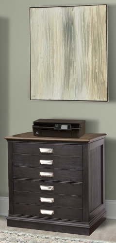 Lincoln Park Lateral File - Vintage Ash