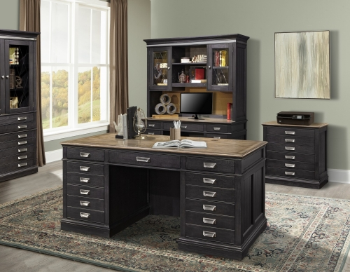 Lincoln Park Home Office Set 1 - Vintage Ash