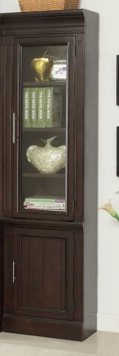 Parker House Stanford 22in Glass Door Cabinet