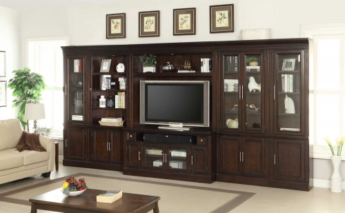 Stanford Inset Entertainment Wall Unit