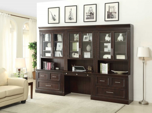Parker House Stanford Collection Features A Clean Traditional Styling  Finished In Light Vintage Sherry. This Home Office Collection Is Perfect  Fit To Any ...