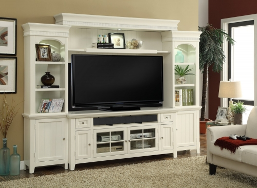 Tidewater 72in Console Entertainment TV Wall Unit