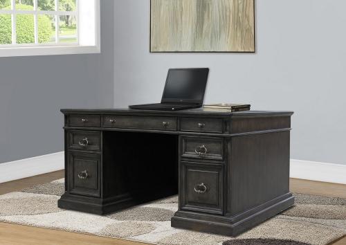 Parker House Washington Heights Double Pedestal Executive Desk