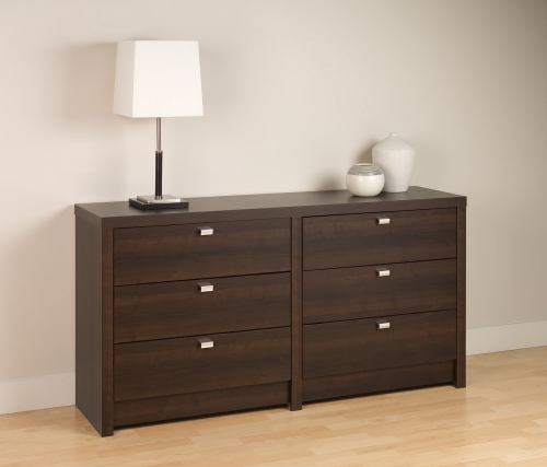 Series 9 6-Drawer Dresser - Espresso