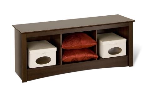 Sonoma Cubbie Bench - Espresso