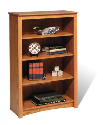 Oak Sonoma 4-shelf Bookcase - Oak