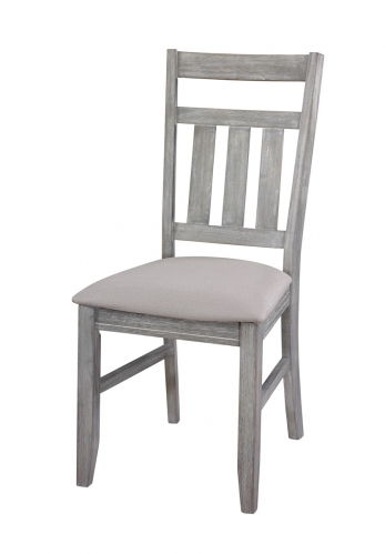 Turino Dining Side Chair - 18 Inch Seat Height - Grey Oak
