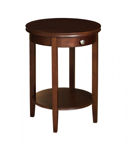 Shelburne Cherry Accent Table