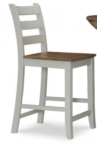 Colm Counter Stool - Silver Birch/Wire brushed Oak