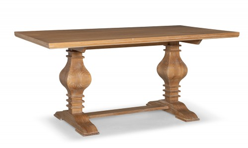 McLeavy Dining Table - Rustic Honey