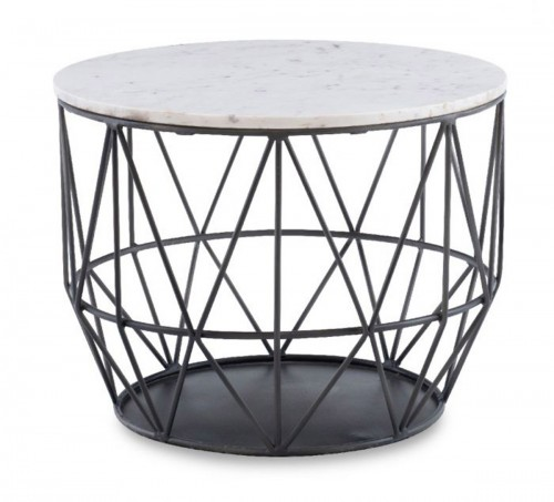 Anderson Wire Side Table - Gunmetal