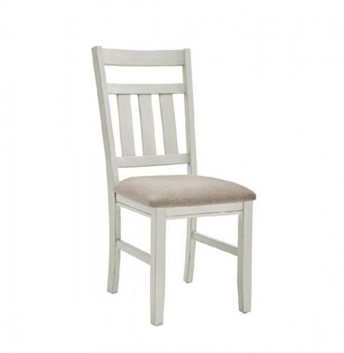 Turino Side Chair - Distressed White