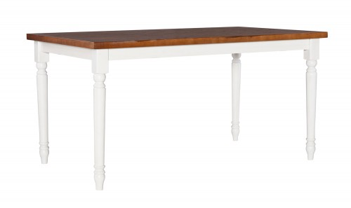 Willow Dining Table - Brown