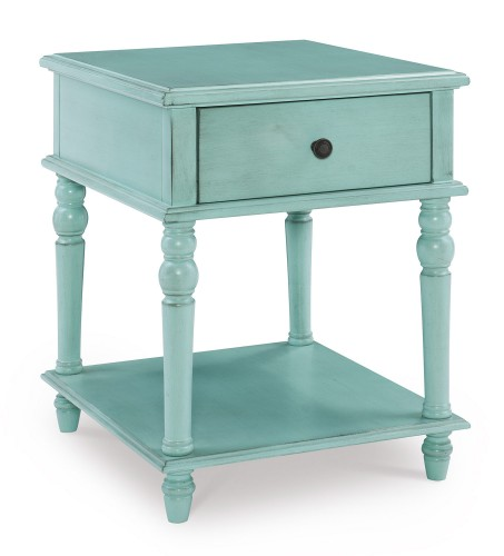 McGhie Side Table - Blue