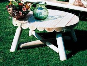 Cedar Looks 36in Coffee Table