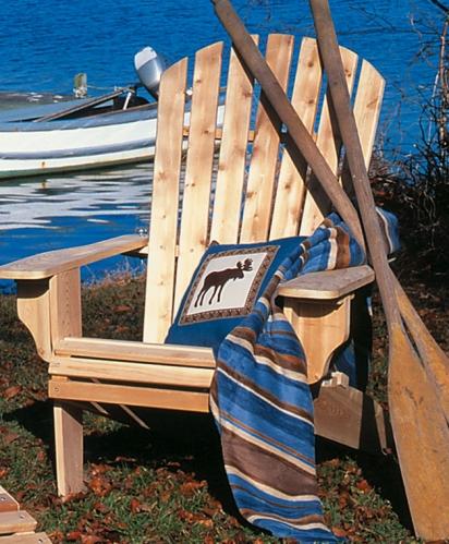 Cedar Looks Deluxe Adirondack Chair