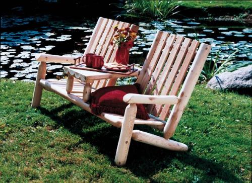 Cedar Looks Garden Teaseat