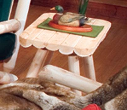 Cedar Looks End Table