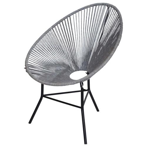 Lima Chair - Gray Metal