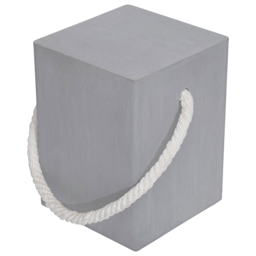 Liverpool Stool - Cement/Natural Rope