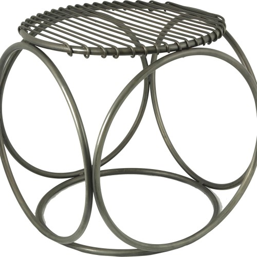 Zia Chair - Antique Zinc