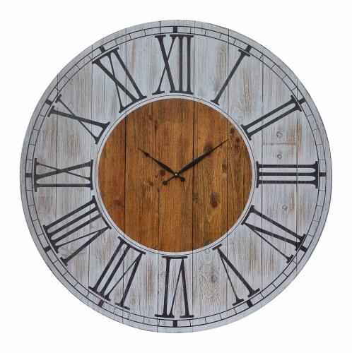 Field Clock - Painted Wood