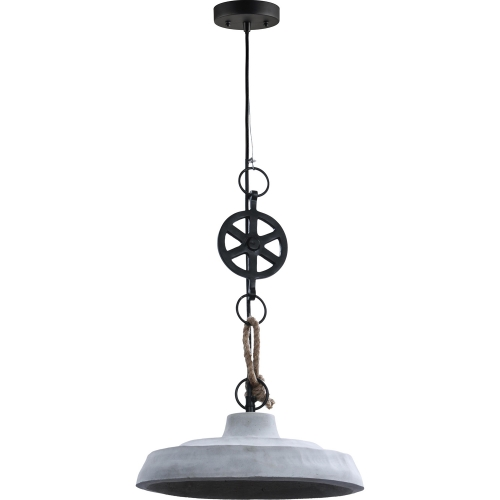Watt Ceiling Fixture - Light grey