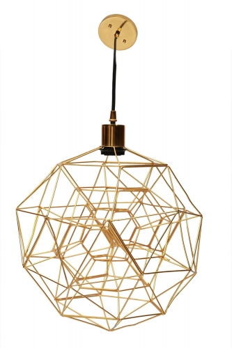 Sidereal Ceiling Fixture - Gold Plated